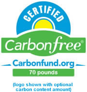 carbonfree Product Certification logo