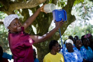 Kenya LifeStraw Project - Woman Demo 2