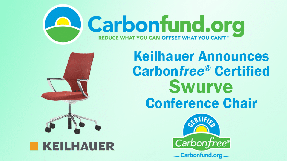 Carbonfund.org Foundation Keilhauer Carbonfree® Product Certification Swurve